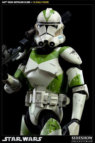 Sideshow - 442nd Siege Batallion Clone - 12 inch Figure  10002319