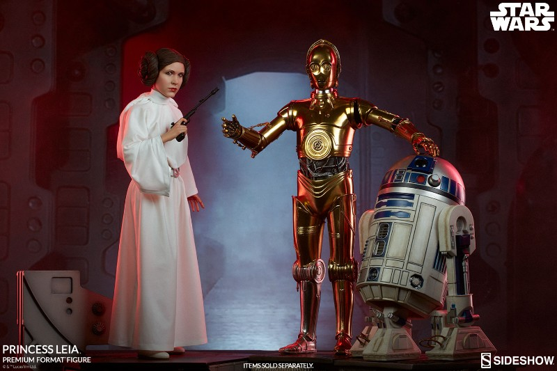 Sideshow Collectibles LEIA ANH - Premium Format (2018)  23-30010