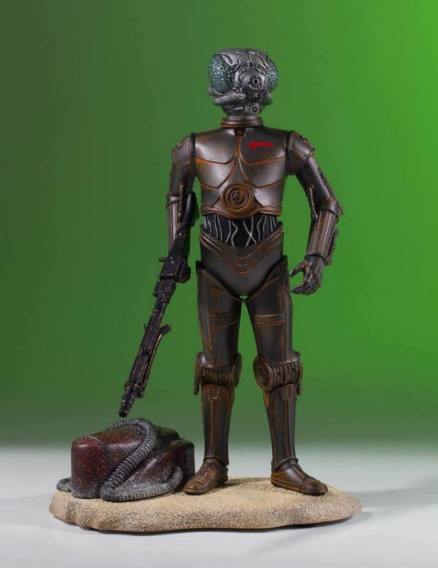 Gentle Giant - Star Wars - 4-LOM Collectors Gallery Statue 4-lom-22