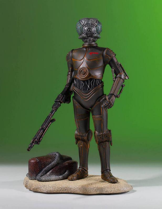 Gentle Giant - Star Wars - 4-LOM Collectors Gallery Statue 4-lom-26