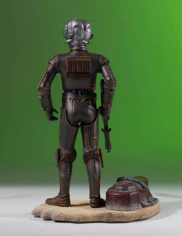 Gentle Giant - Star Wars - 4-LOM Collectors Gallery Statue 4-lom-30