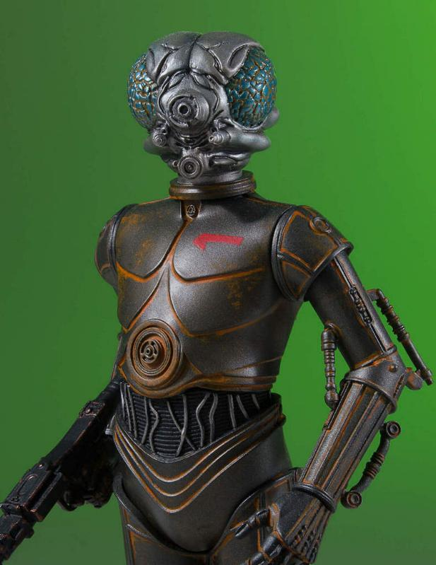 Gentle Giant - Star Wars - 4-LOM Collectors Gallery Statue 4-lom-31