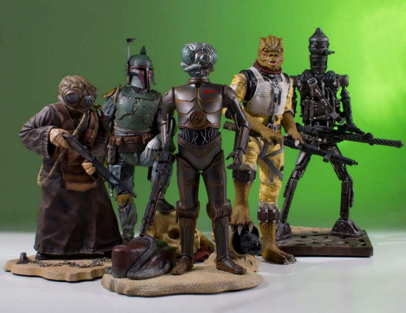Gentle Giant - Star Wars - 4-LOM Collectors Gallery Statue 4-lom-32