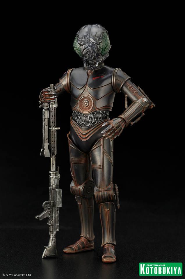 Kotobukiya - Star Wars ESB - 4-LOM ARTFX+ Statue 4-lom_10