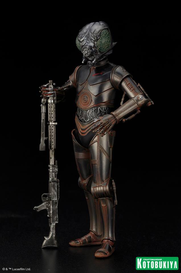 Kotobukiya - Star Wars ESB - 4-LOM ARTFX+ Statue 4-lom_13