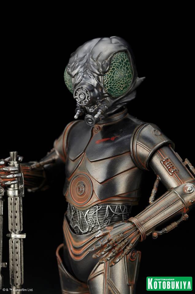 Kotobukiya - Star Wars ESB - 4-LOM ARTFX+ Statue 4-lom_15