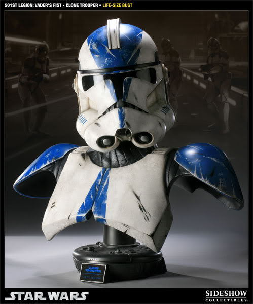 Sideshow - 501 Clone Trooper - Life Size Bust 40006910