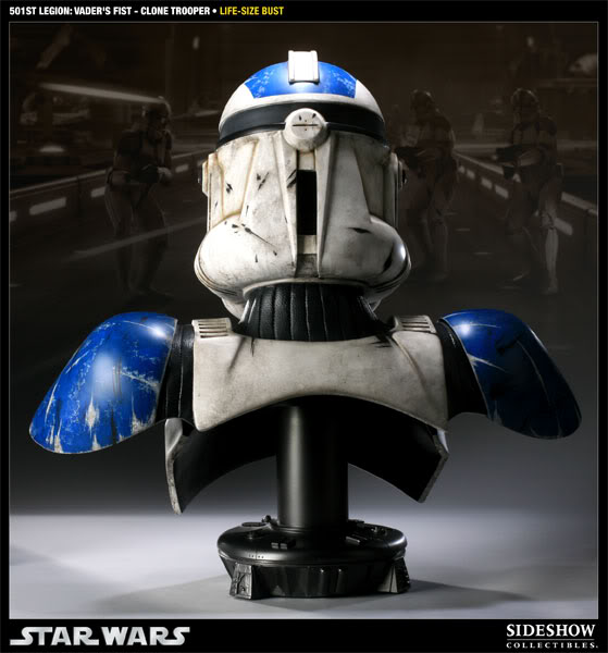 Sideshow - 501 Clone Trooper - Life Size Bust 40006911