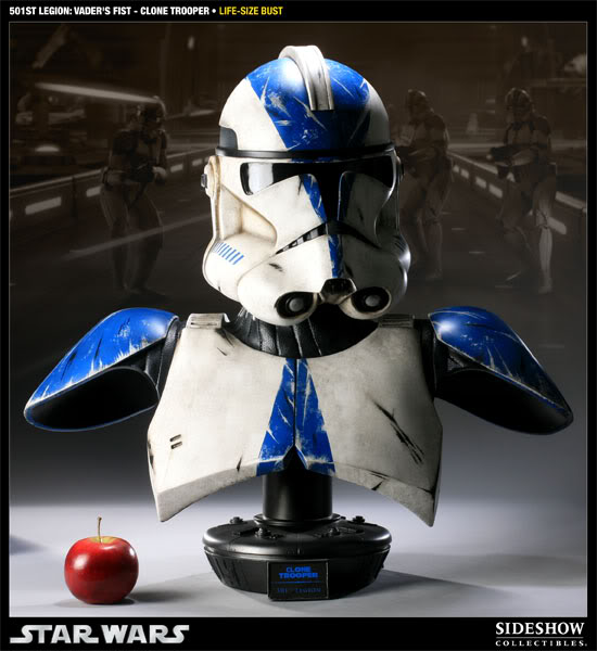 Sideshow - 501 Clone Trooper - Life Size Bust 40006913