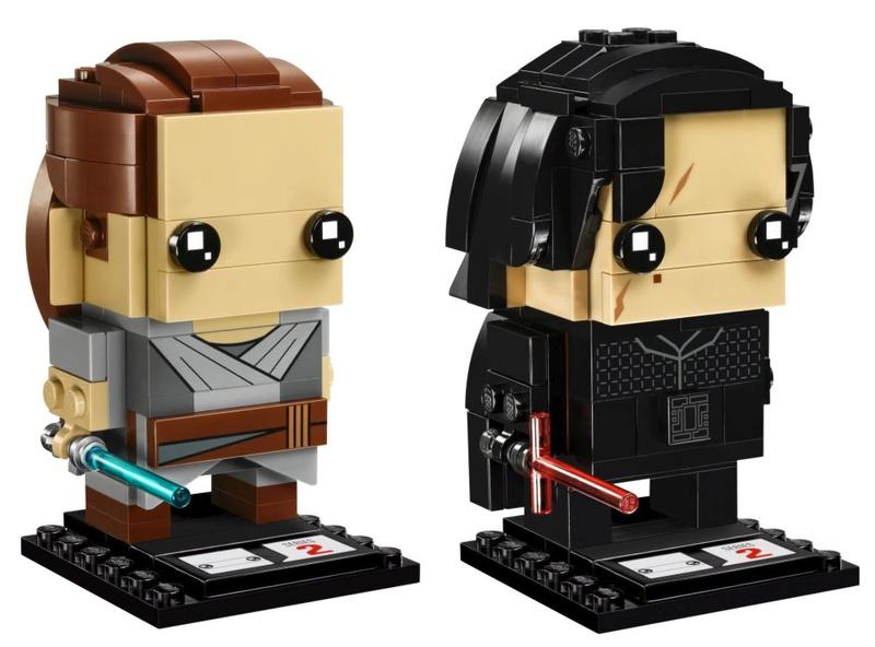 LEGO STAR WARS - 41498 - BrickHeadz Pack Rey & Kylo Ren 41489_11