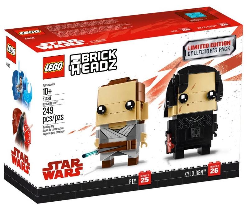 LEGO STAR WARS - 41498 - BrickHeadz Pack Rey & Kylo Ren 41489_12