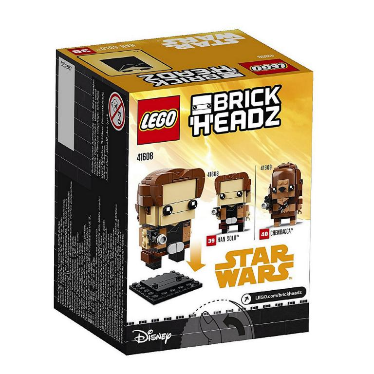 LEGO BRICKHEADZ STAR WARS - SOLO - 41608 - Han Solo 41608_11