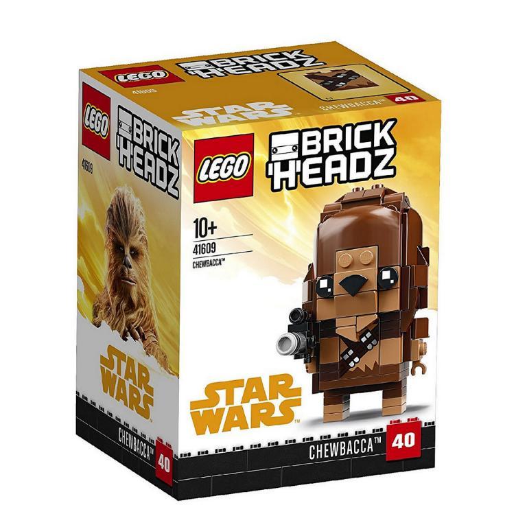 LEGO BRICKHEADZ STAR WARS - SOLO - 41609 - Chewbacca 41609_10