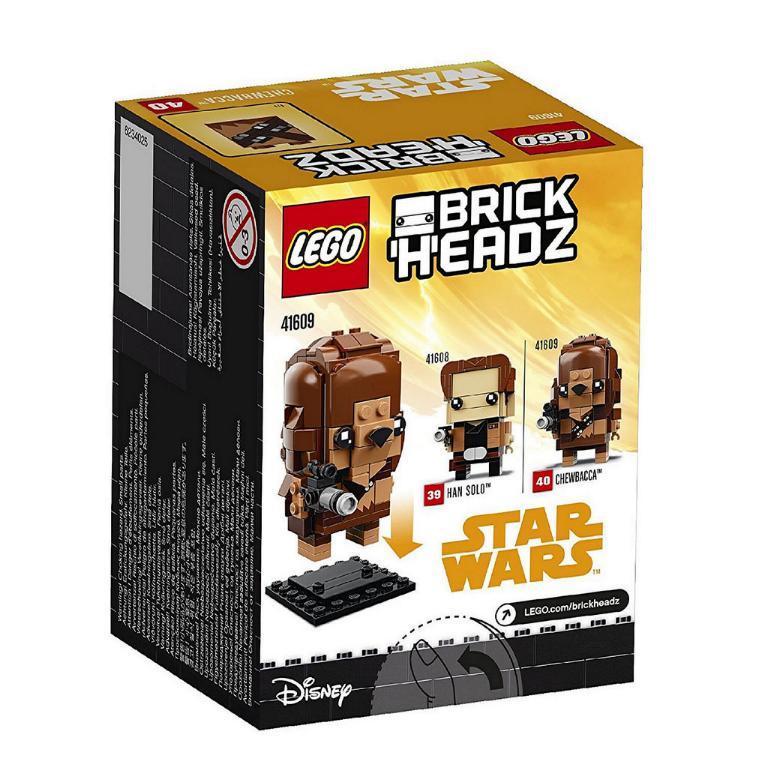 LEGO BRICKHEADZ STAR WARS - SOLO - 41609 - Chewbacca 41609_11