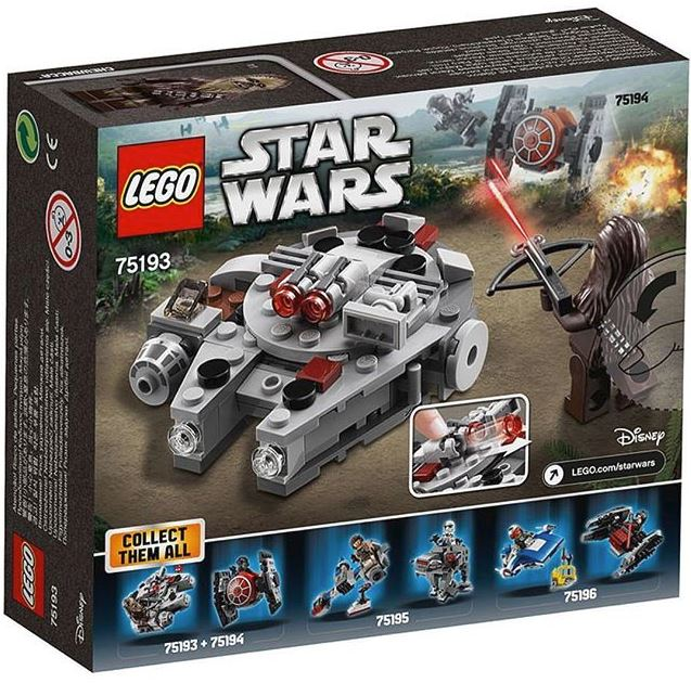 LEGO STAR WARS MICROFIGHTERS - 75193 - Millennium Falcon  75163_10