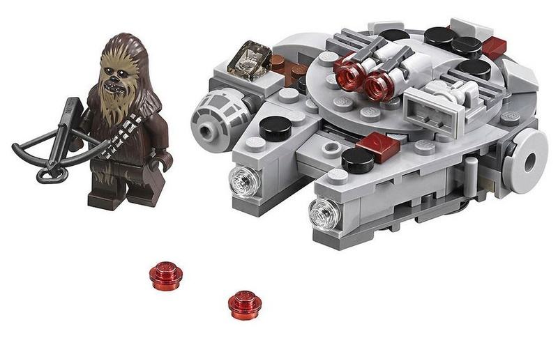 LEGO STAR WARS MICROFIGHTERS - 75193 - Millennium Falcon  75163_11