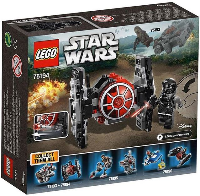 LEGO STAR WARS MICROFIGHTERS - 75194 - First Order Tie Fight 75194_10