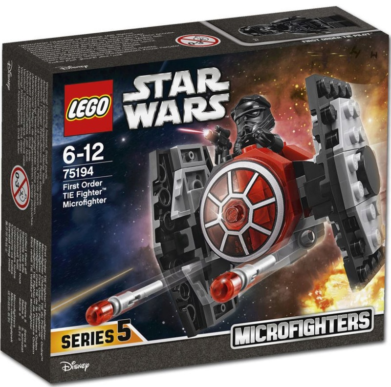 LEGO STAR WARS MICROFIGHTERS - 75194 - First Order Tie Fight 75194_12
