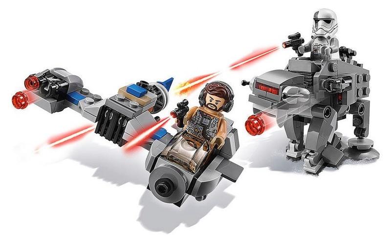 LEGO STAR WARS - 75195 - Ski Speeder vs. First Order Walker 75195_10