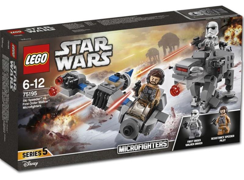 LEGO STAR WARS - 75195 - Ski Speeder vs. First Order Walker 75195_11