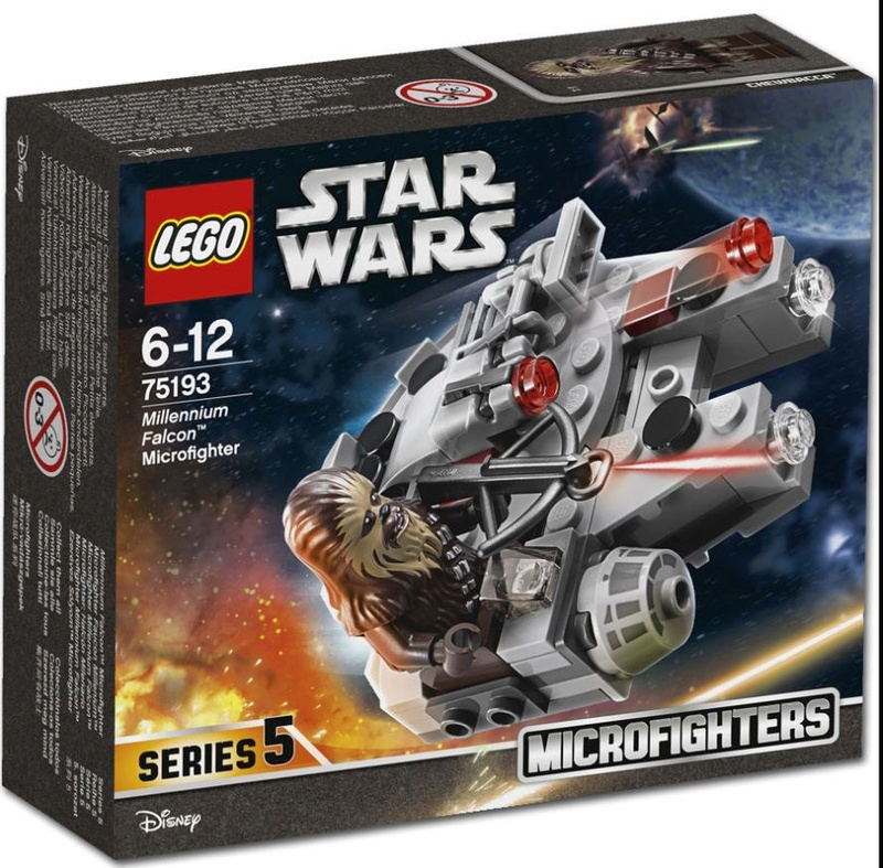LEGO STAR WARS MICROFIGHTERS - 75193 - Millennium Falcon  75196310