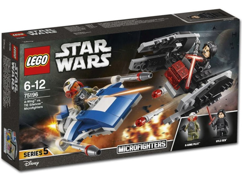 LEGO STAR WARS - 75196 - A-Wing vs. Tie Silencer 75196_11