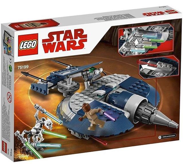 LEGO STAR WARS - 75199 - General Grievous' Combat Speeder 75199_10