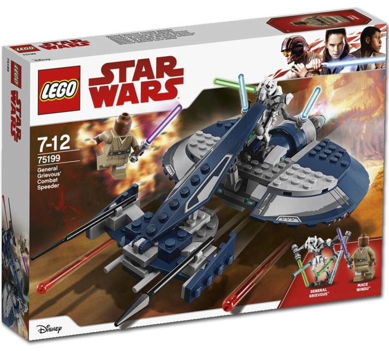LEGO STAR WARS - 75199 - General Grievous' Combat Speeder 75199_12