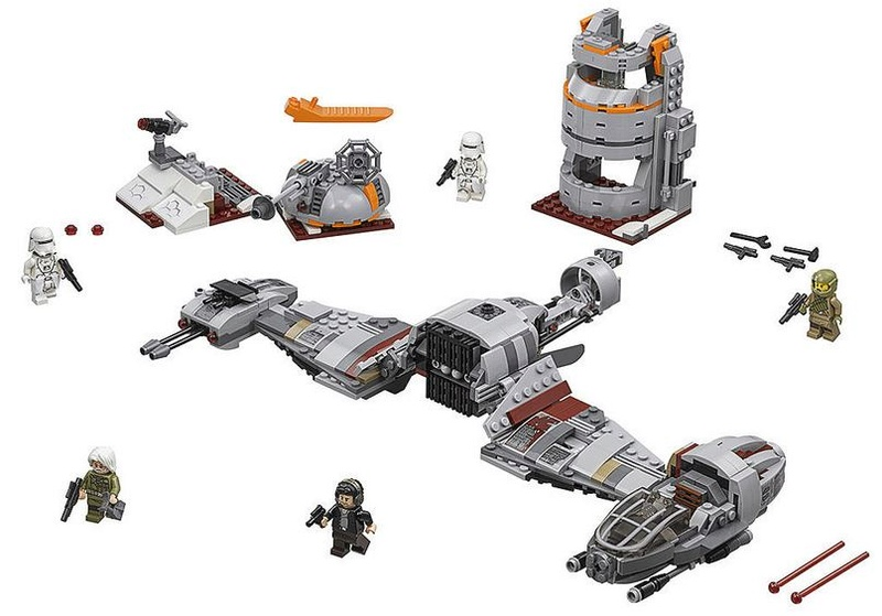 LEGO STAR WARS - 75202 - Defense of Crait 75202_10