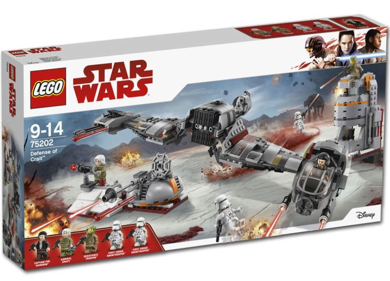 LEGO STAR WARS - 75202 - Defense of Crait 75202_11