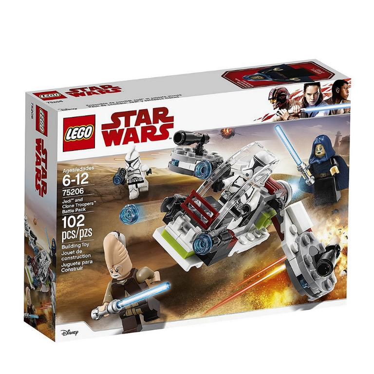 LEGO STAR WARS - 75206 - Jedi & Clone Troopers Battle Pack 75206_13