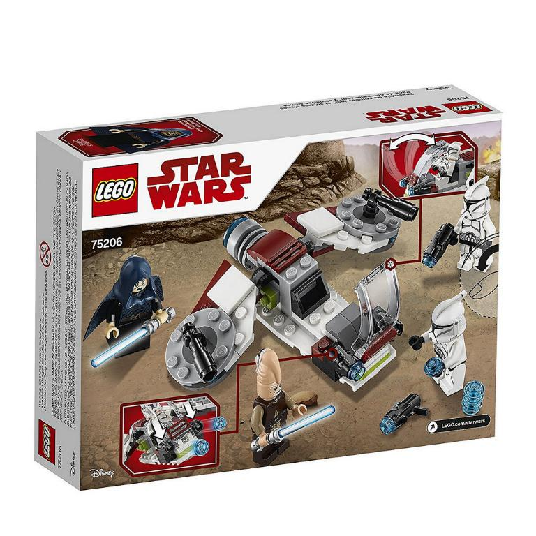 LEGO STAR WARS - 75206 - Jedi & Clone Troopers Battle Pack 75206_14