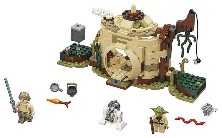 LEGO STAR WARS - 75208 - Yoda's Hut 75208_11