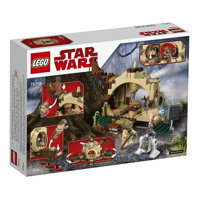 LEGO STAR WARS - 75208 - Yoda's Hut 75208_12
