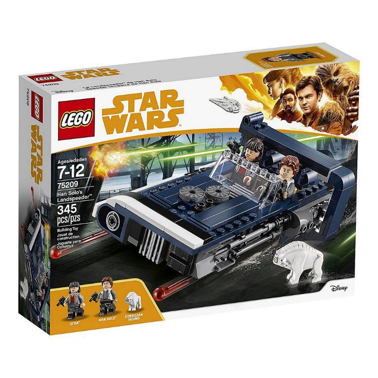 LEGO STAR WARS - SOLO - 75209 - Han Solo's Landspeeder  75209_10