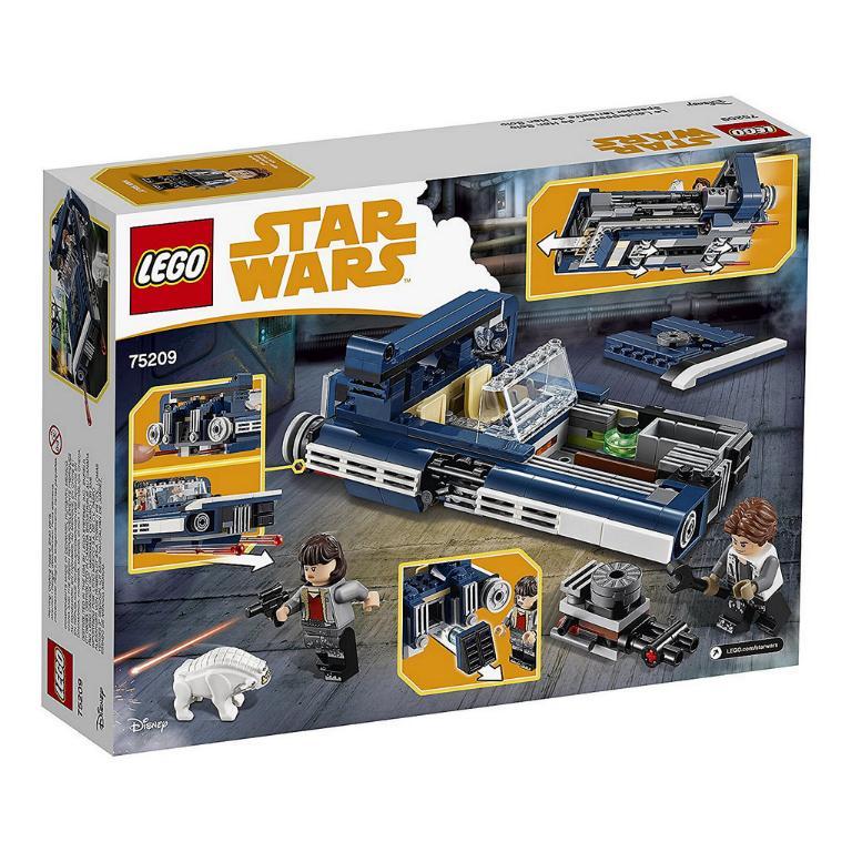 LEGO STAR WARS - SOLO - 75209 - Han Solo's Landspeeder  75209_12