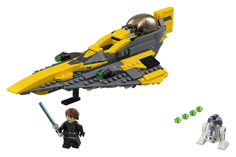LEGO STAR WARS - 75214 - Anakin's Jedi Starfighter 75214_12