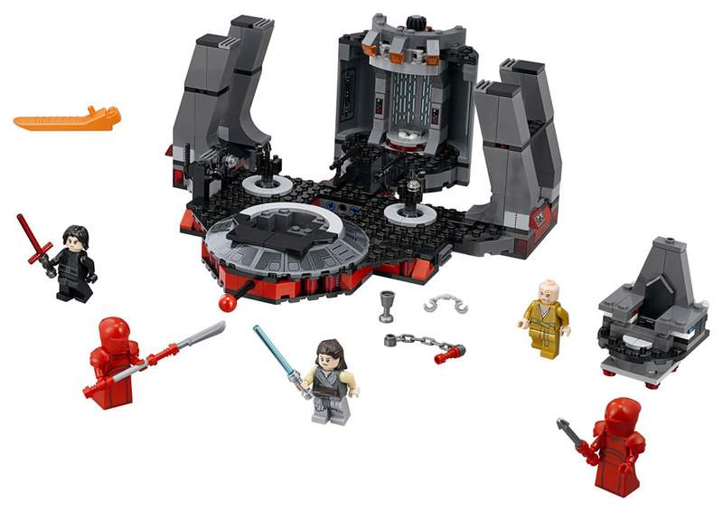 LEGO STAR WARS - 75216 - Snoke's Throne Room 75216_12