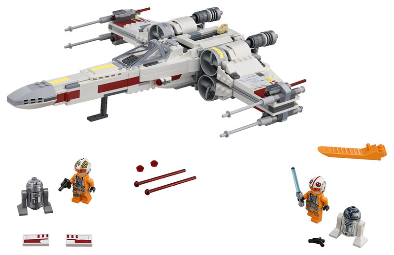 LEGO STAR WARS - 75218 - X-Wing Starfighter 75218_12