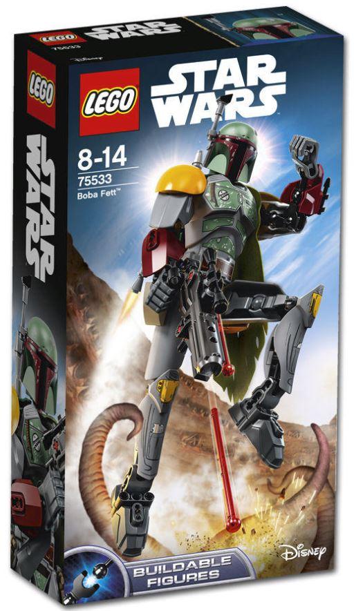 LEGO STAR WARS BUILDABLE FIGURINE - 75533 - Boba Fett 75533_11