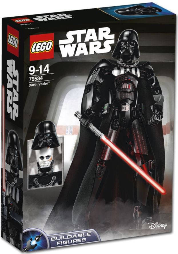 LEGO STAR WARS BUILDABLE FIGURINE - 75534 - Darth Vader 75534_10