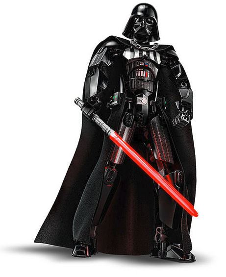 LEGO STAR WARS BUILDABLE FIGURINE - 75534 - Darth Vader 75534_11