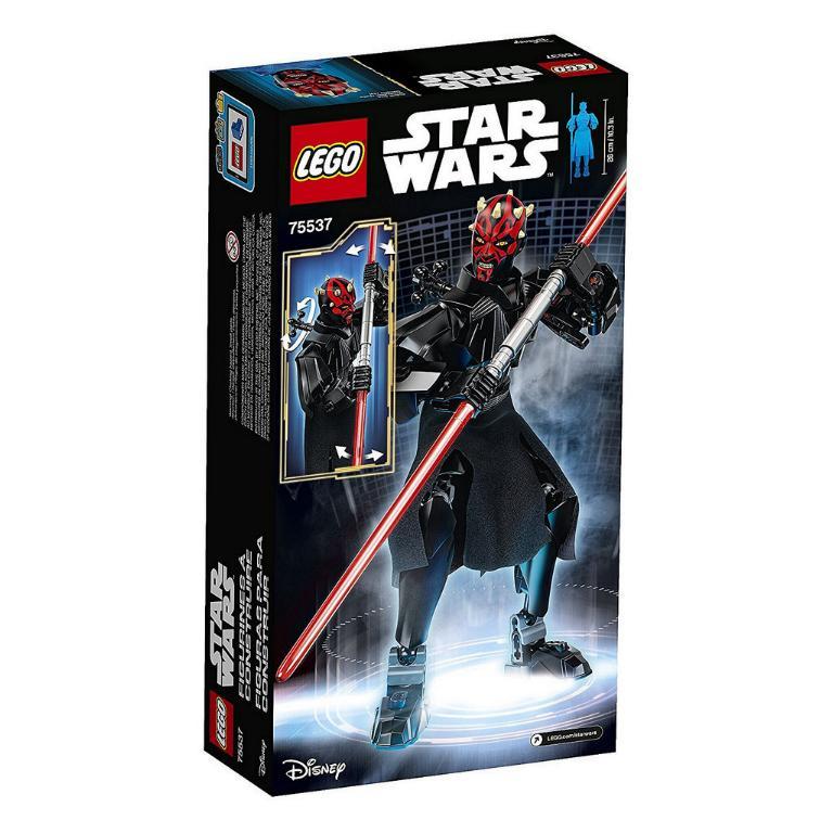 LEGO STAR WARS BUILDABLE FIGURINE - 75537 - Darth Maul 75537_12