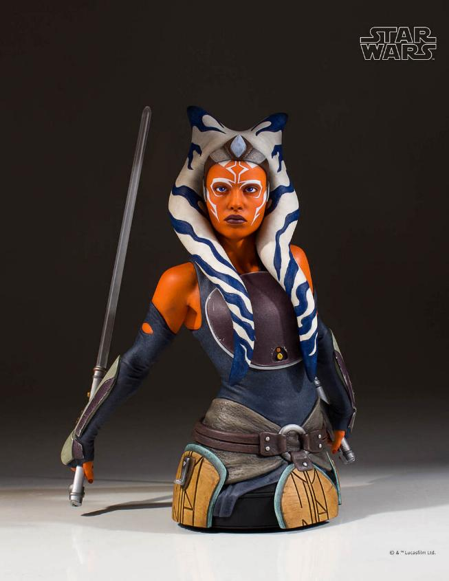Gentle Giant Star Wars The Clone Wars Ahsoka Tano Mini Bust Ahsoka12