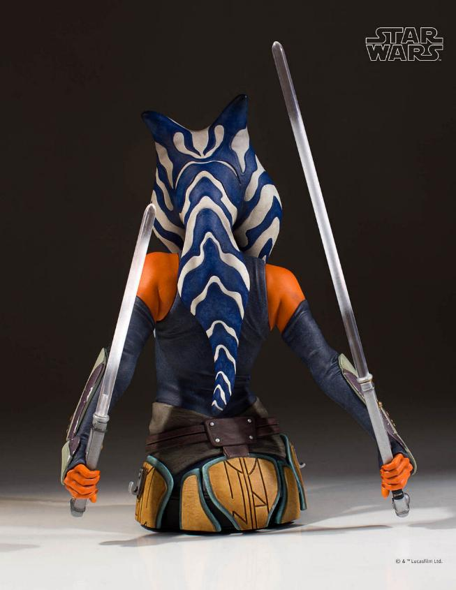 Gentle Giant Star Wars The Clone Wars Ahsoka Tano Mini Bust Ahsoka14