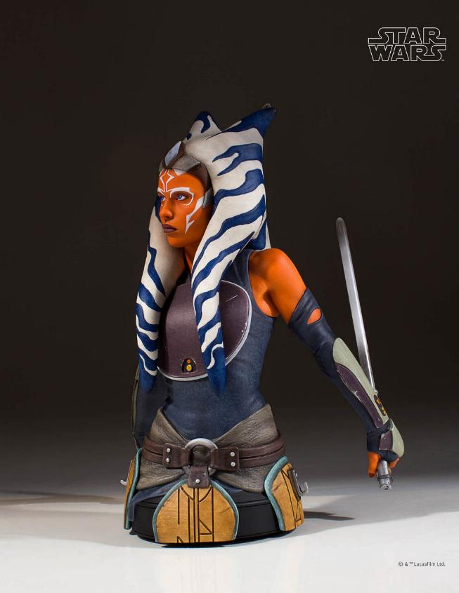 Gentle Giant Star Wars The Clone Wars Ahsoka Tano Mini Bust Ahsoka15