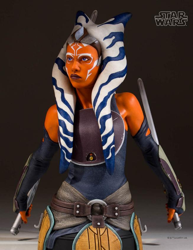 Gentle Giant Star Wars The Clone Wars Ahsoka Tano Mini Bust Ahsoka16