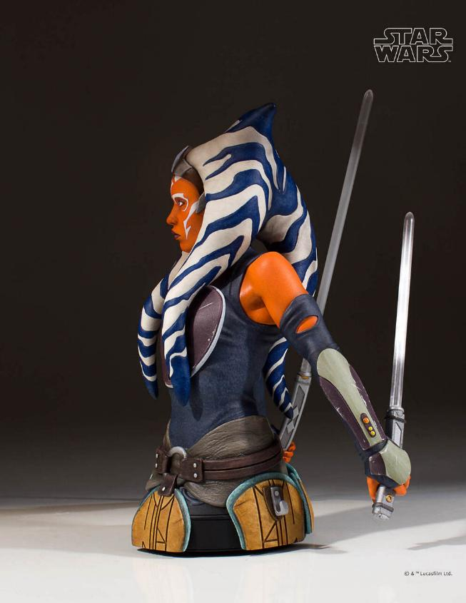 Gentle Giant Star Wars The Clone Wars Ahsoka Tano Mini Bust Ahsoka17