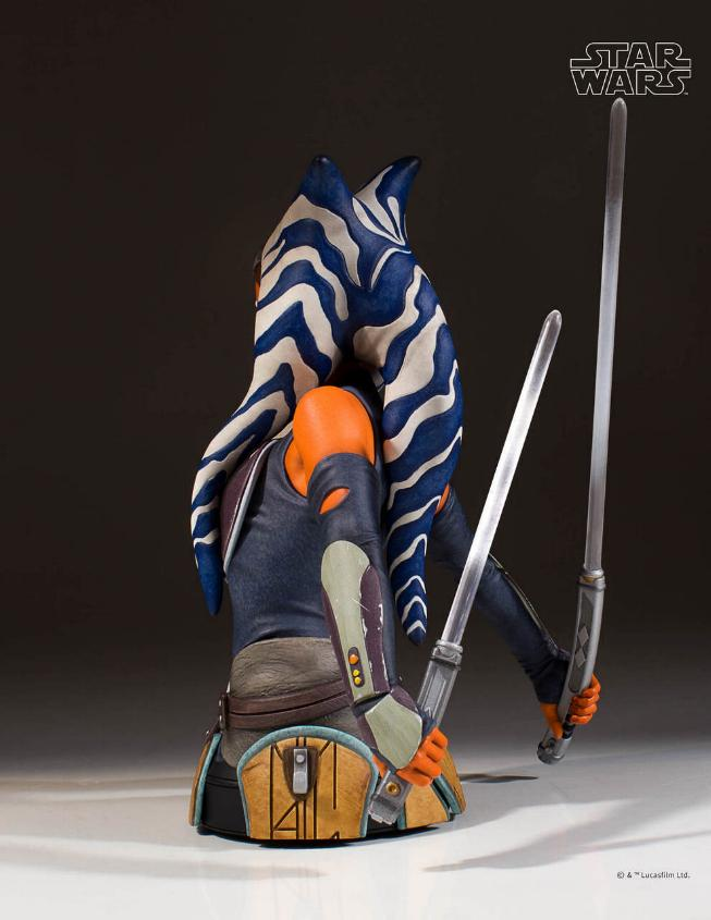 Gentle Giant Star Wars The Clone Wars Ahsoka Tano Mini Bust Ahsoka18