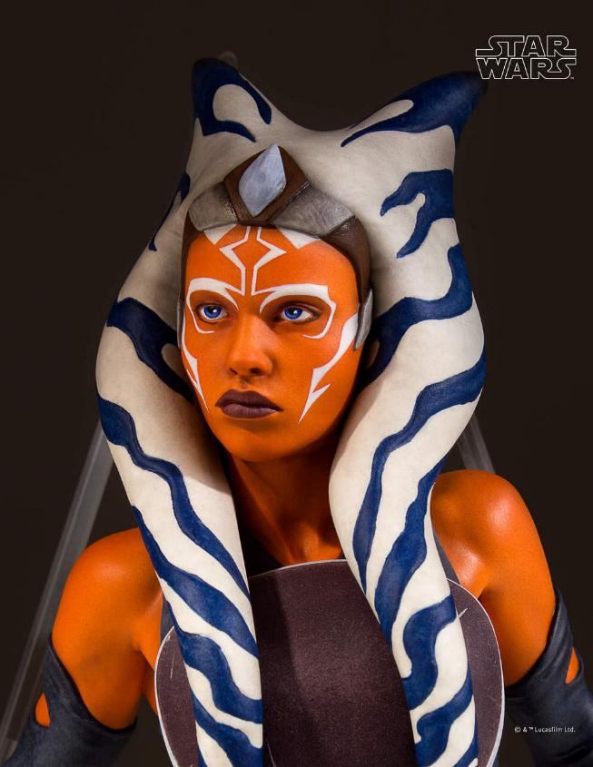 Gentle Giant Star Wars The Clone Wars Ahsoka Tano Mini Bust Ahsoka19
